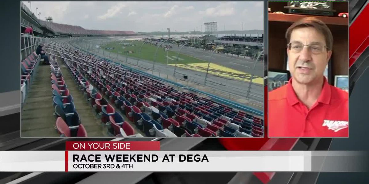 Race weekend at Dega
