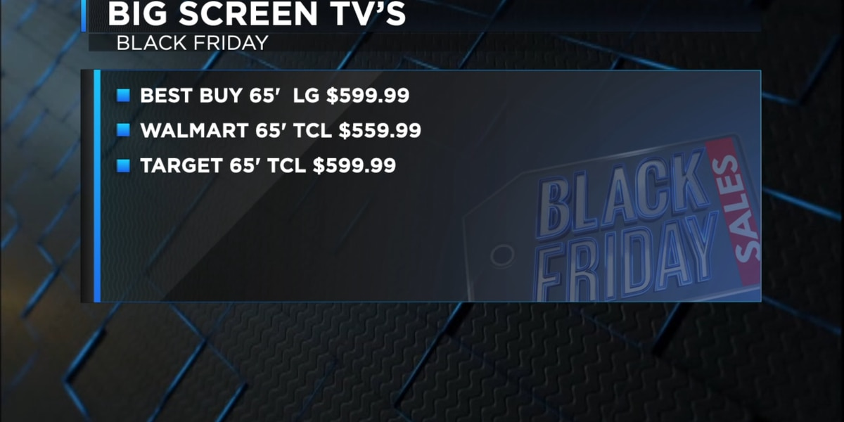 Best deals on electronics this Black Friday