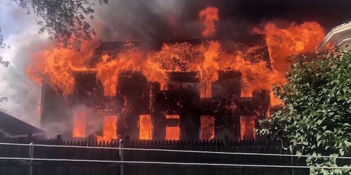 'You try to help when you can': UPS driver saves 2 from 9-alarm fire in Boston
