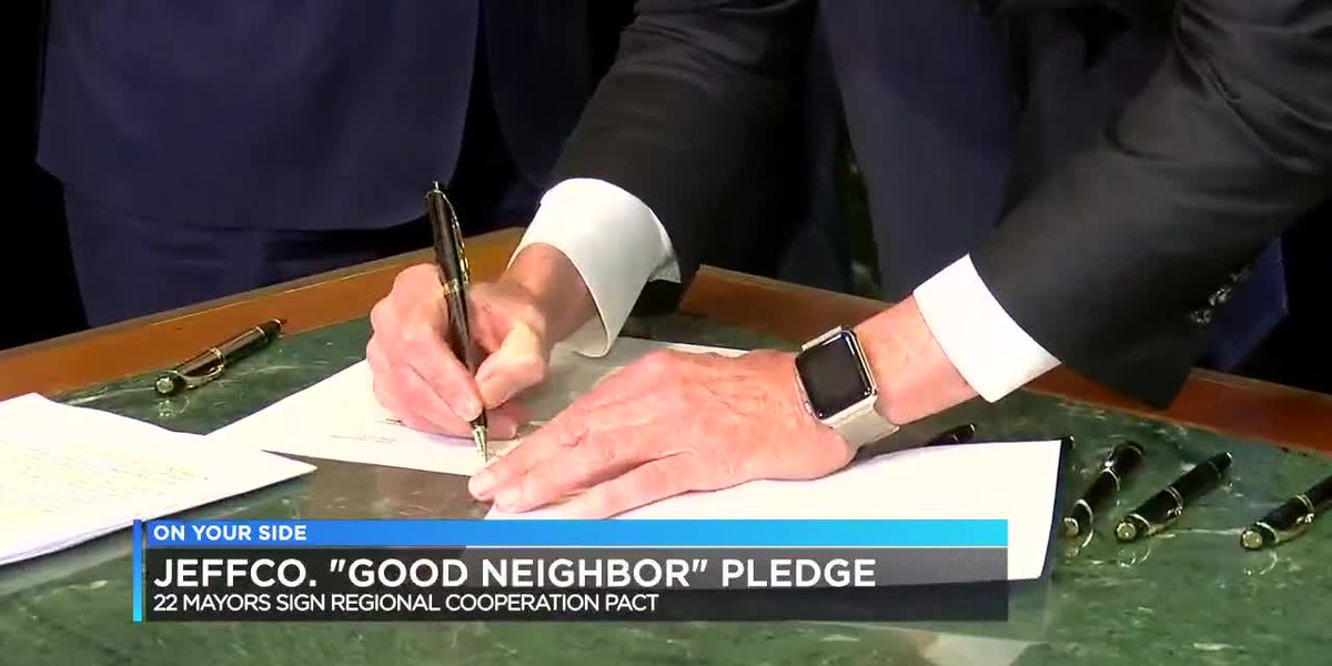 "JeffCo ""good neighbor"" pledge"