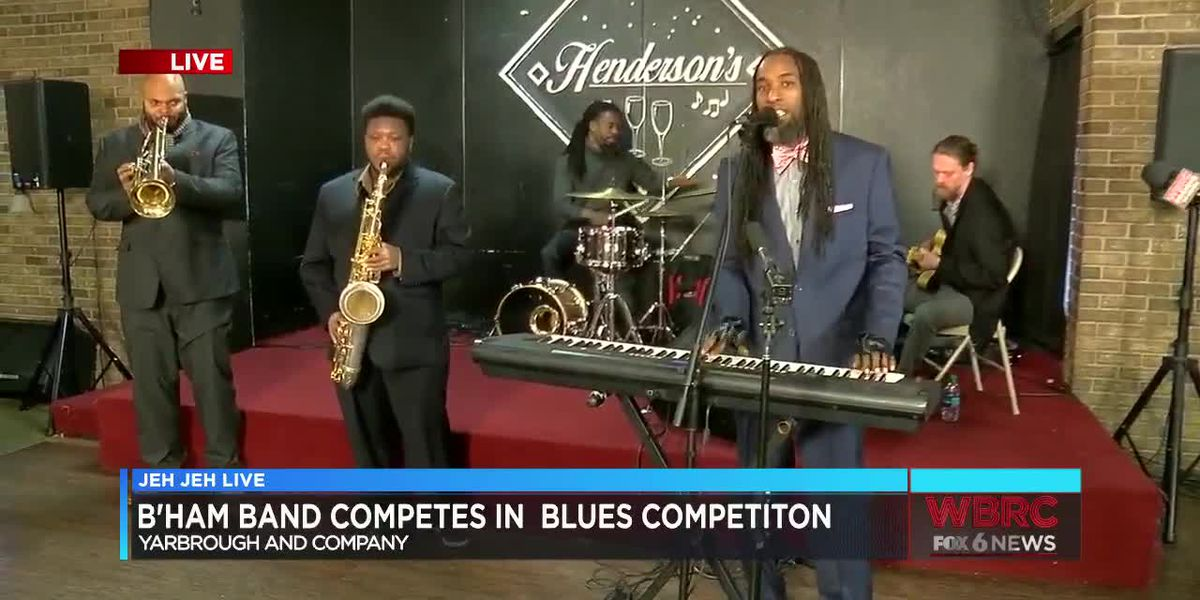 Jeh Jeh Live: Yarbrough and Company band in International Blues Challenge