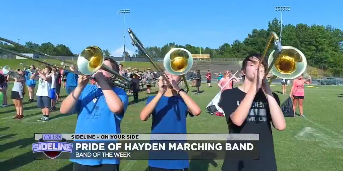 Sideline 2019 week 5 Band of the week