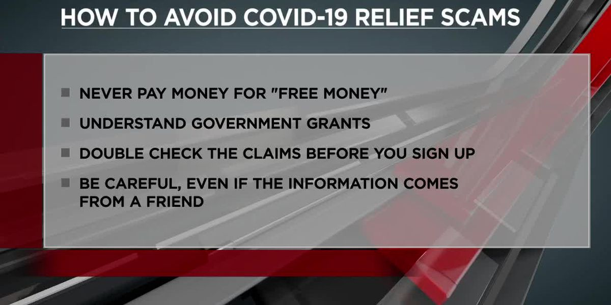 How to avoid COVID-19 relief scams