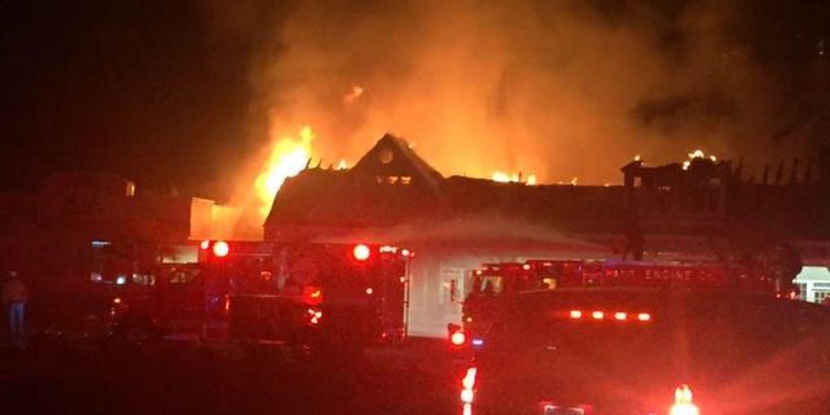 Fire destroys two business in Vestavia Hills strip mall