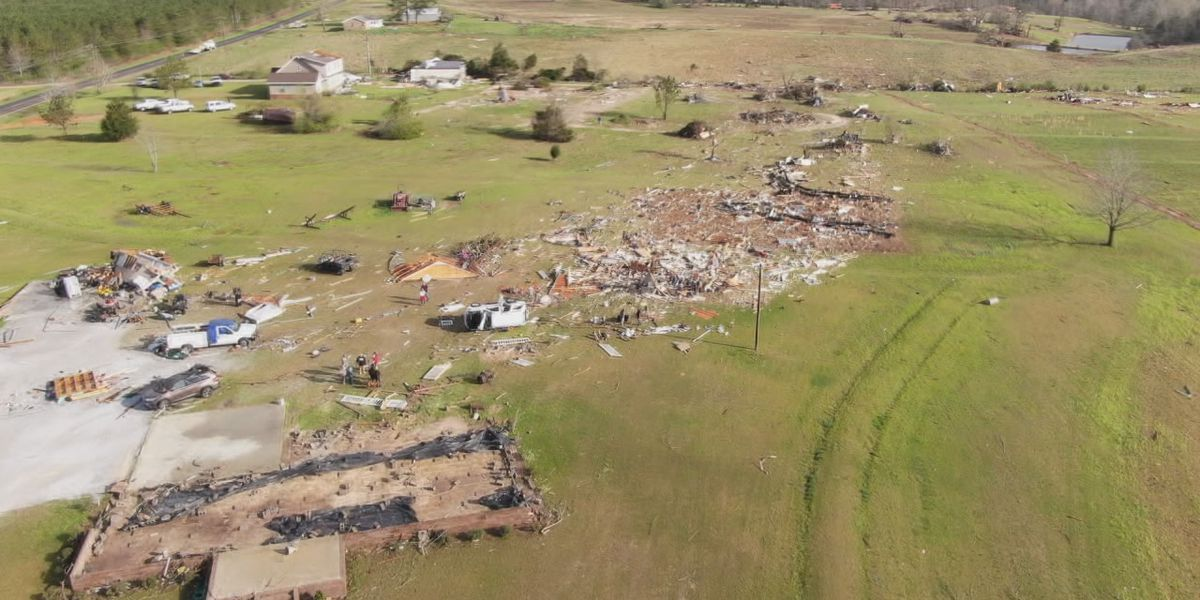 Busy day for NWS teams surveying tornado damage after Wedneday's severe weather