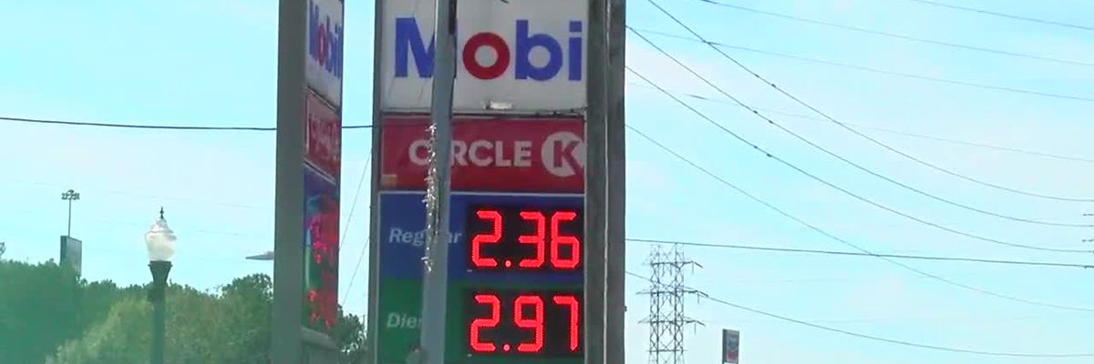 Gas prices going down