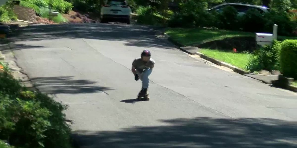 Zero to 60 in one hill for Alabama skateboarder