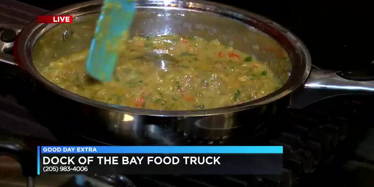 Dock of the Bay Food Truck: Crawfish Etouffee