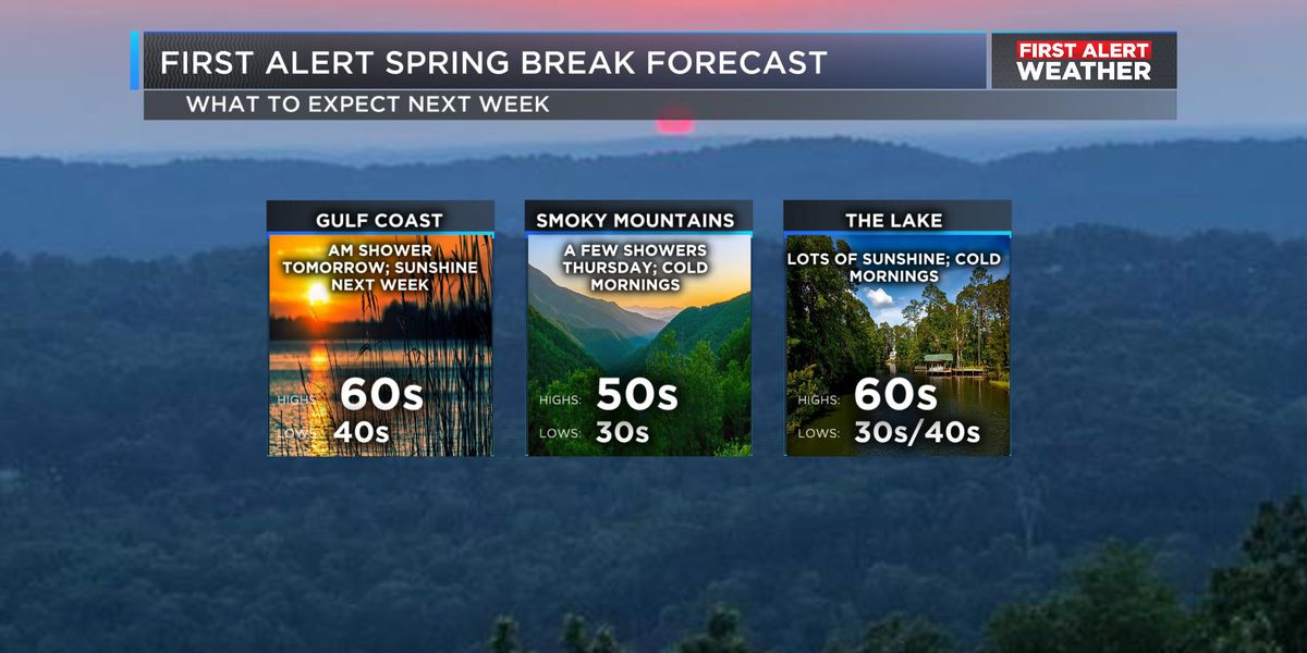 Work Week Forecast: Spring, we're glad to see you!