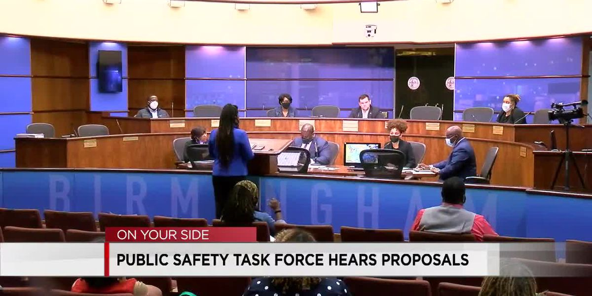 Birmingham Public Safety Task Force gets new ideas from community