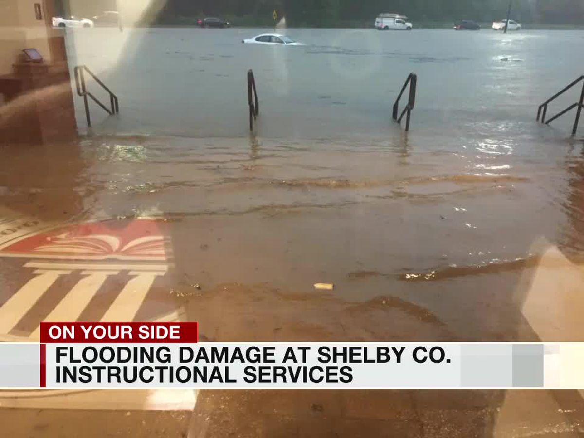 Flood waters impact Shelby County school facilities, students expected to return Thursday