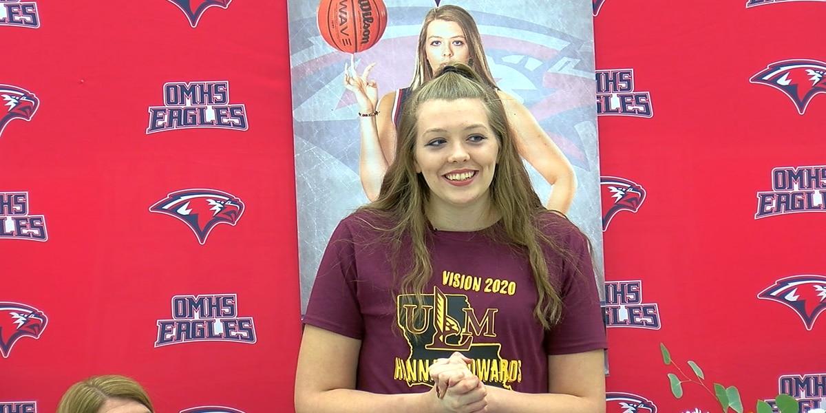Birmingham basketball talent Hannah Edwards signs letter of intent