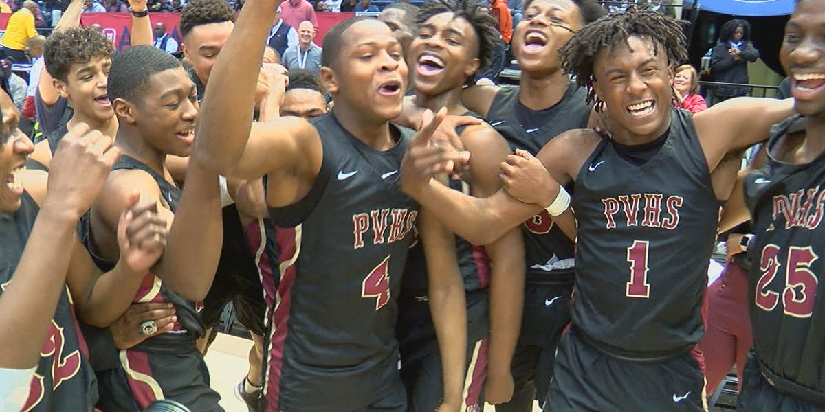 Pinson Valley wins program's first state basketball title