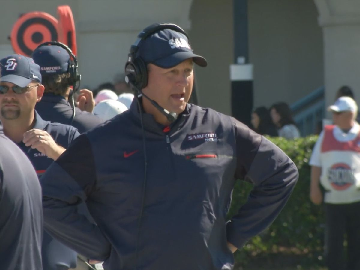 Samford Head Football Coach Chris Hatcher signs contract extension