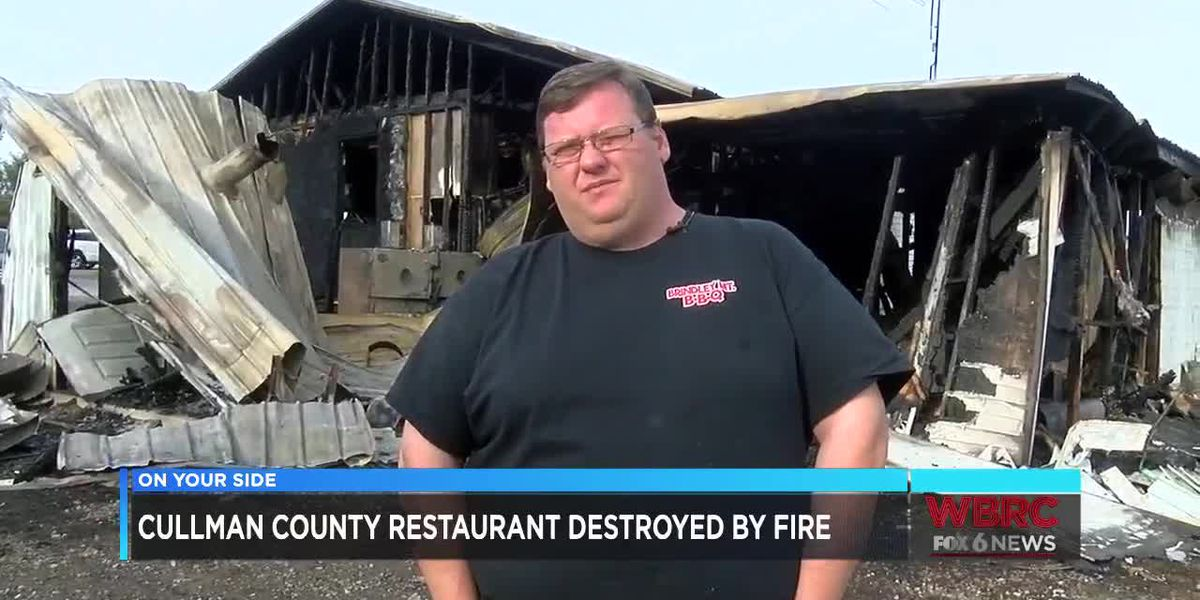Cullman County restaurant destroyed by fire