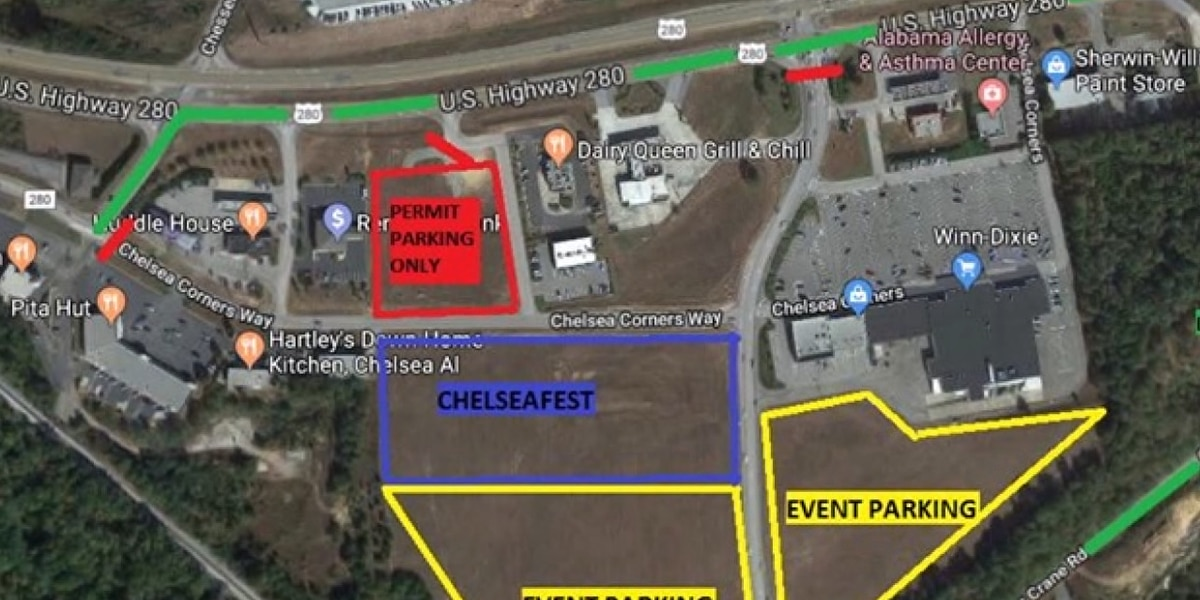 Chelsea Fest might cause some delays on Highway 280