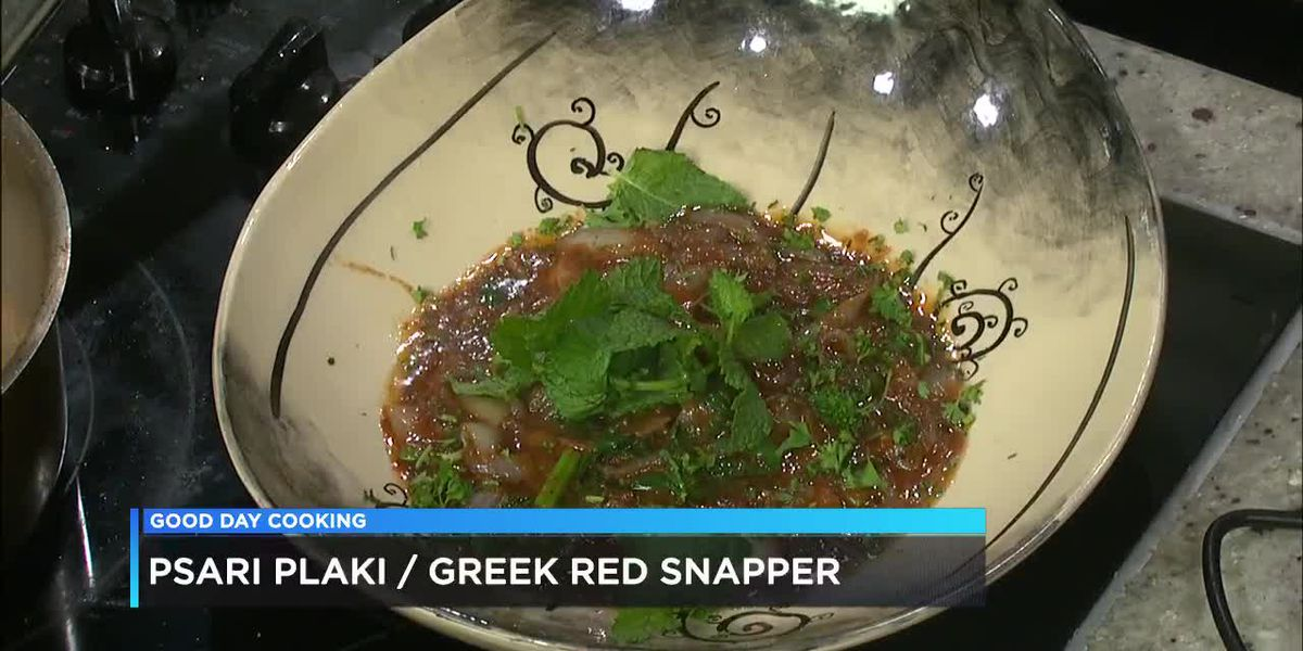 George Sarris: Greek Red Snapper