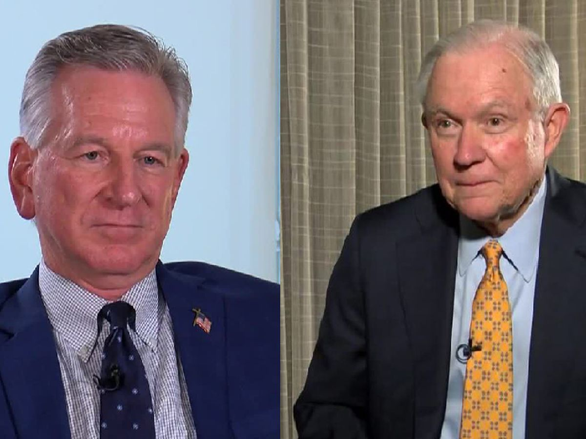 New poll shows Tuberville leading Sessions in Alabama U.S. Senate race