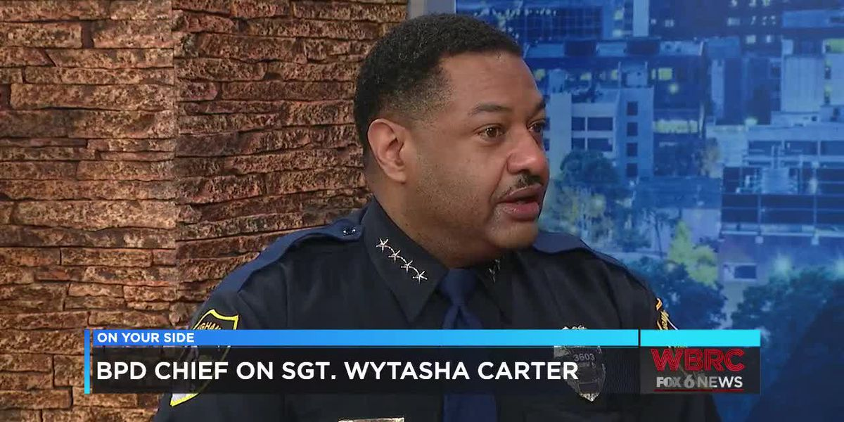 B'ham Police Chief on the death of Sgt. Wytasha Carter