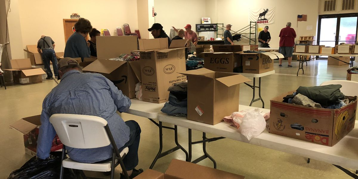 Clothing drive for homeless veterans in west Alabama