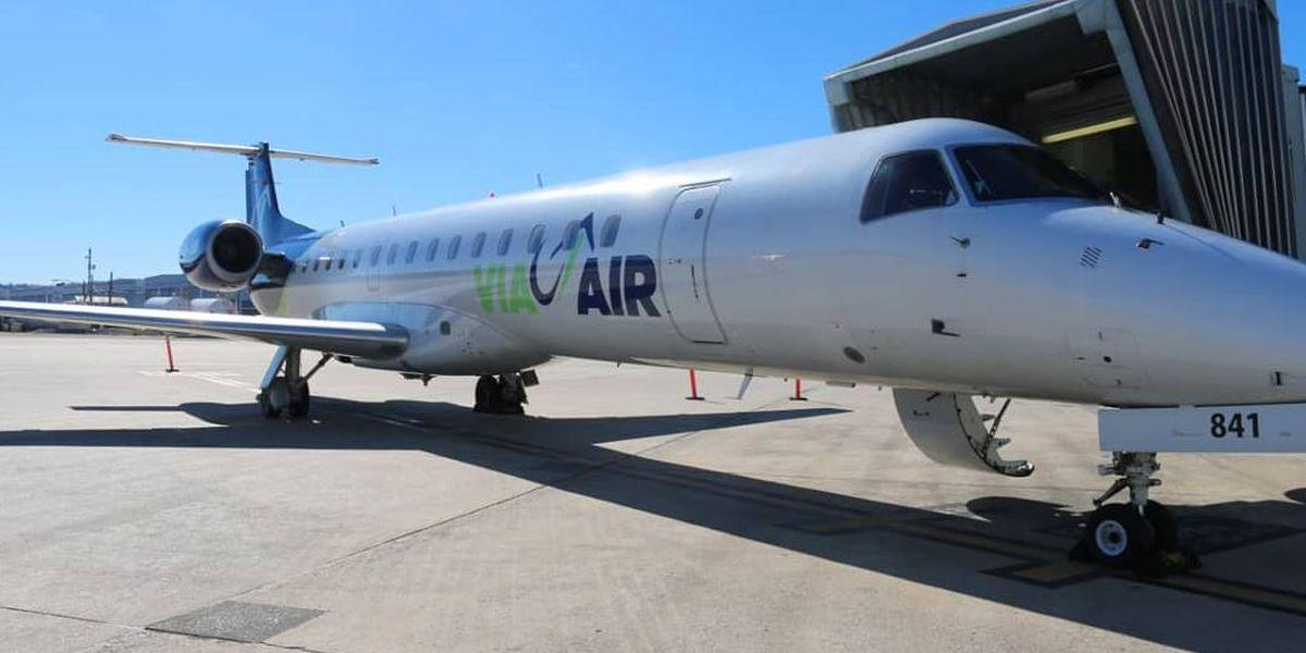 Via Airlines adds 4 new nonstop flights in Birmingham