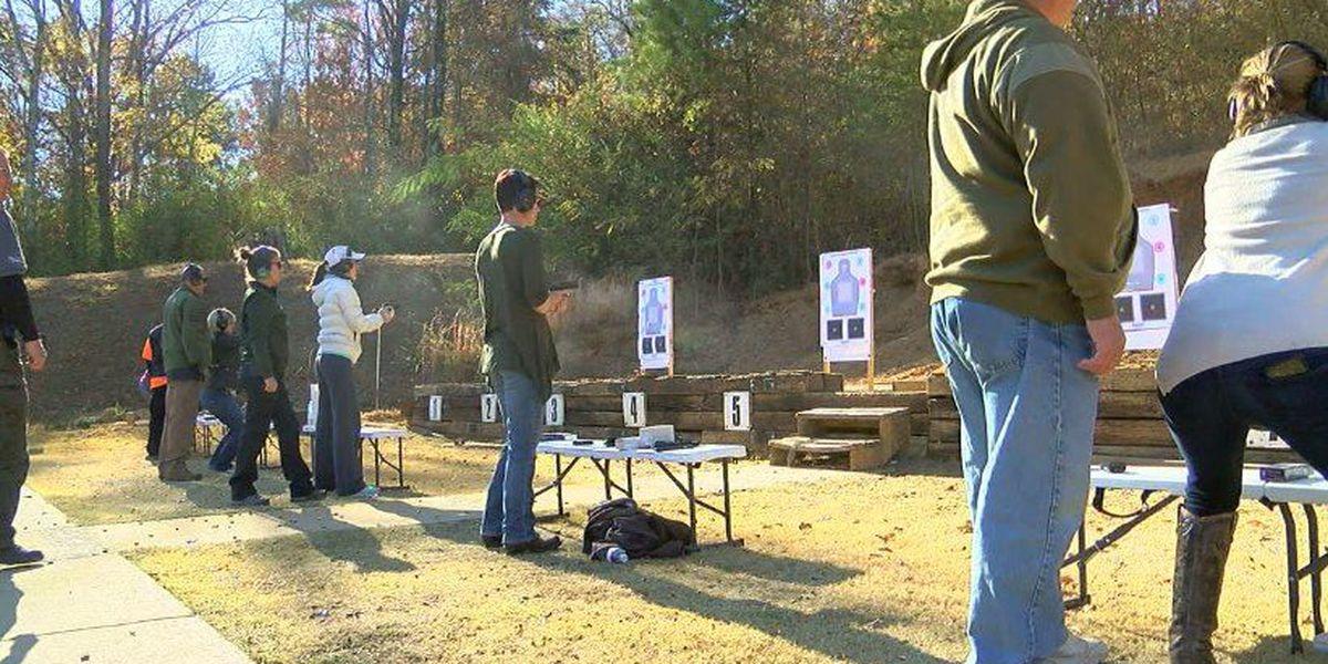Nurses learn self-defense at Irondale gun range