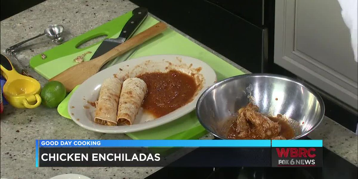 Wendy Cruse: Chicken Enchiladas