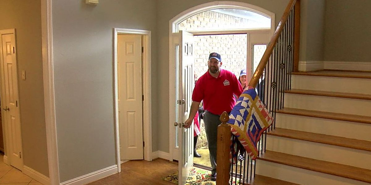 Building Homes for Heroes: Fultondale army veteran gets new home