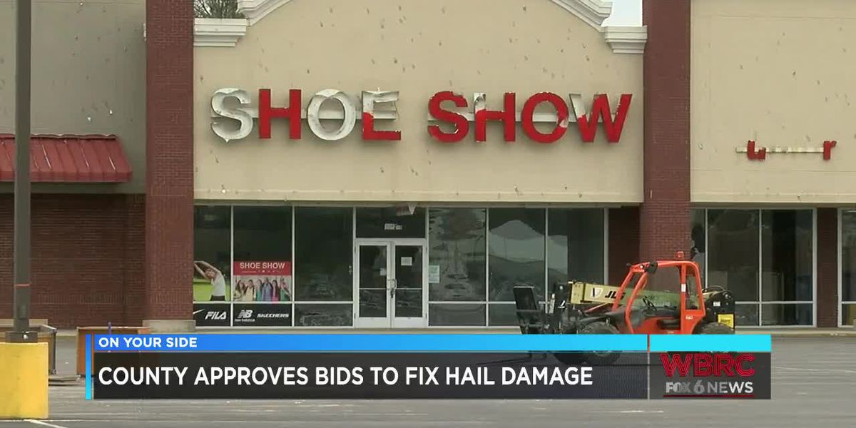 Cullman Co. approves bids to fix hail damage