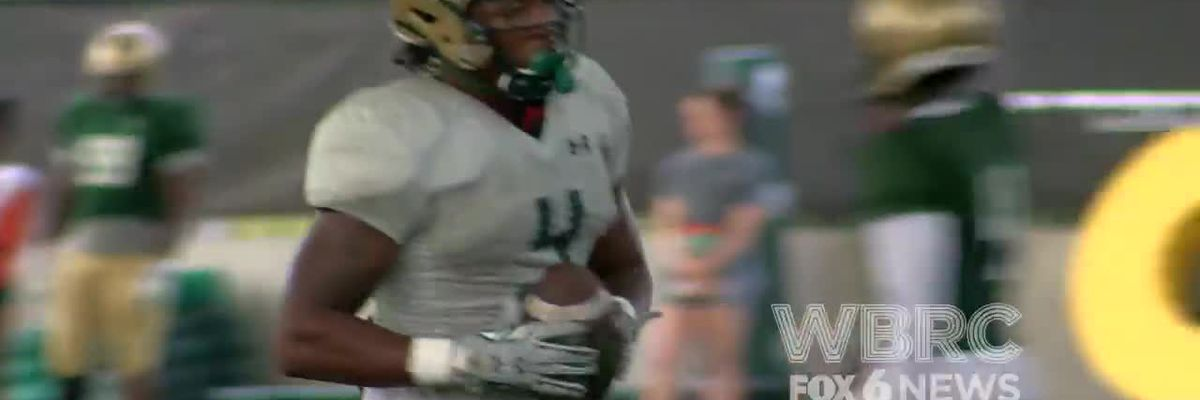 UAB's 1st scrimmage of fall camp