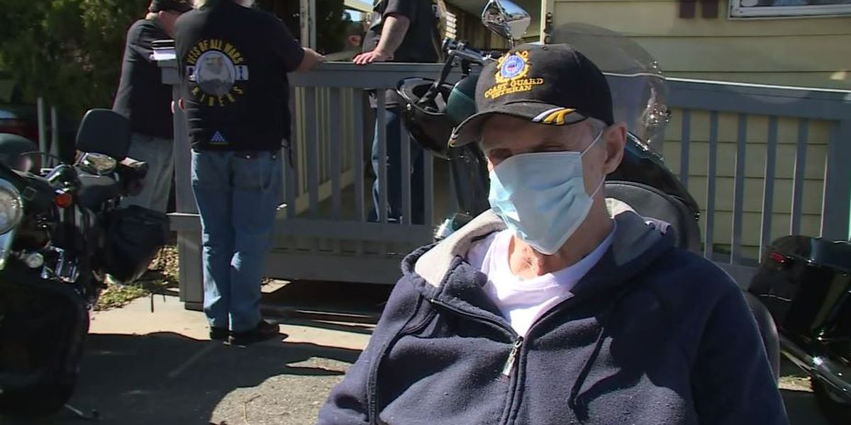 Veteran leaves home for first time in 2 years, thanks to volunteer-built wheelchair ramp