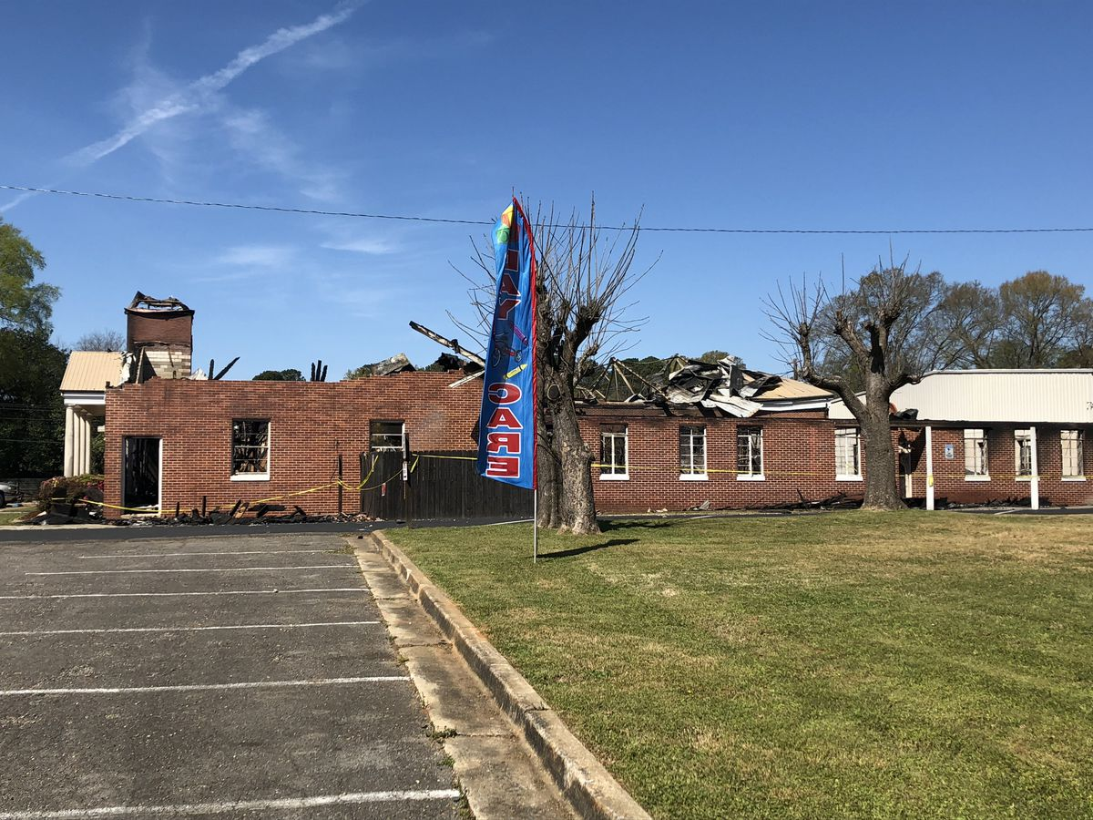 Investigators rule out possible causes of Tuscaloosa church fire