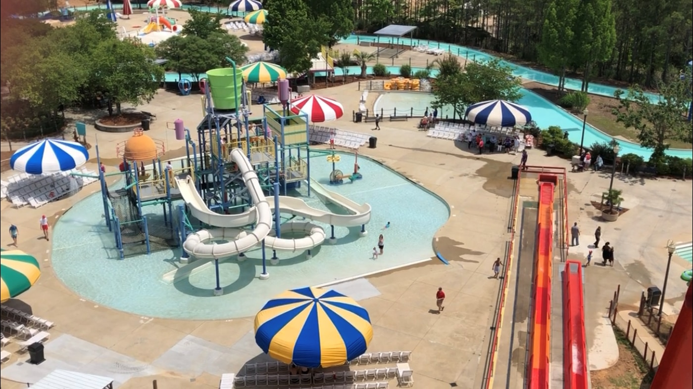 Beware of the food at Alabama Adventure Water Park - Review of ...