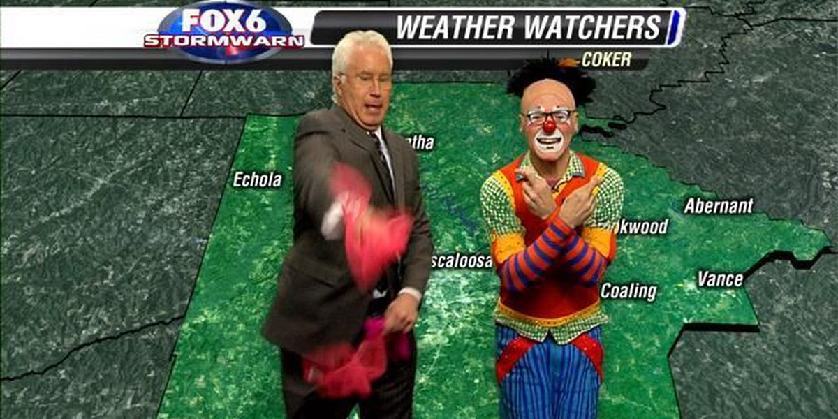 Which one is the clown?