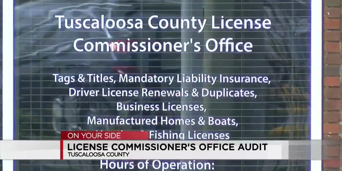 Tuscaloosa County Probate Judge explains audit of License Commissioner's Office