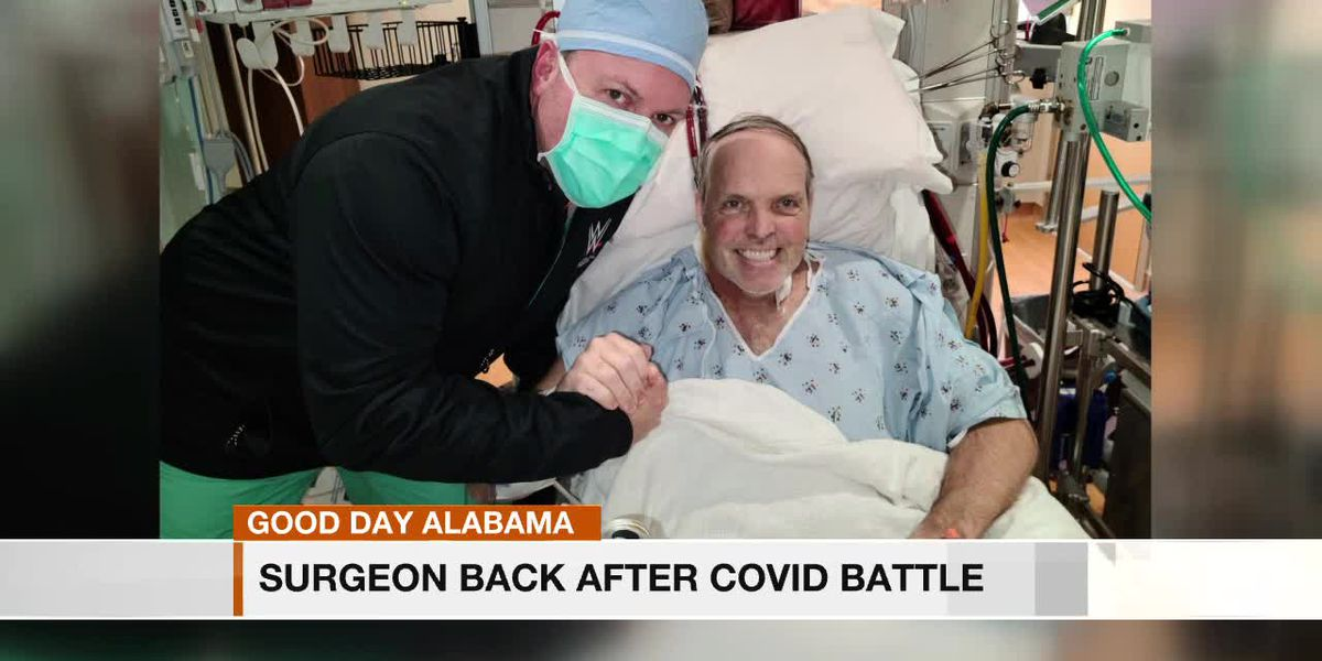 Surgeon, COVID-19 survivor, back at work helping others