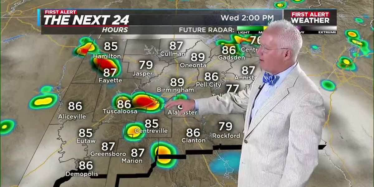 First Alert Weather 4am update 7-8-20
