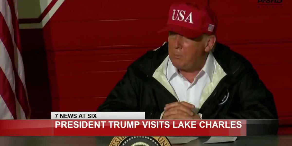 Pres. Trump tours Hurricane Laura damage in Louisiana and Texas
