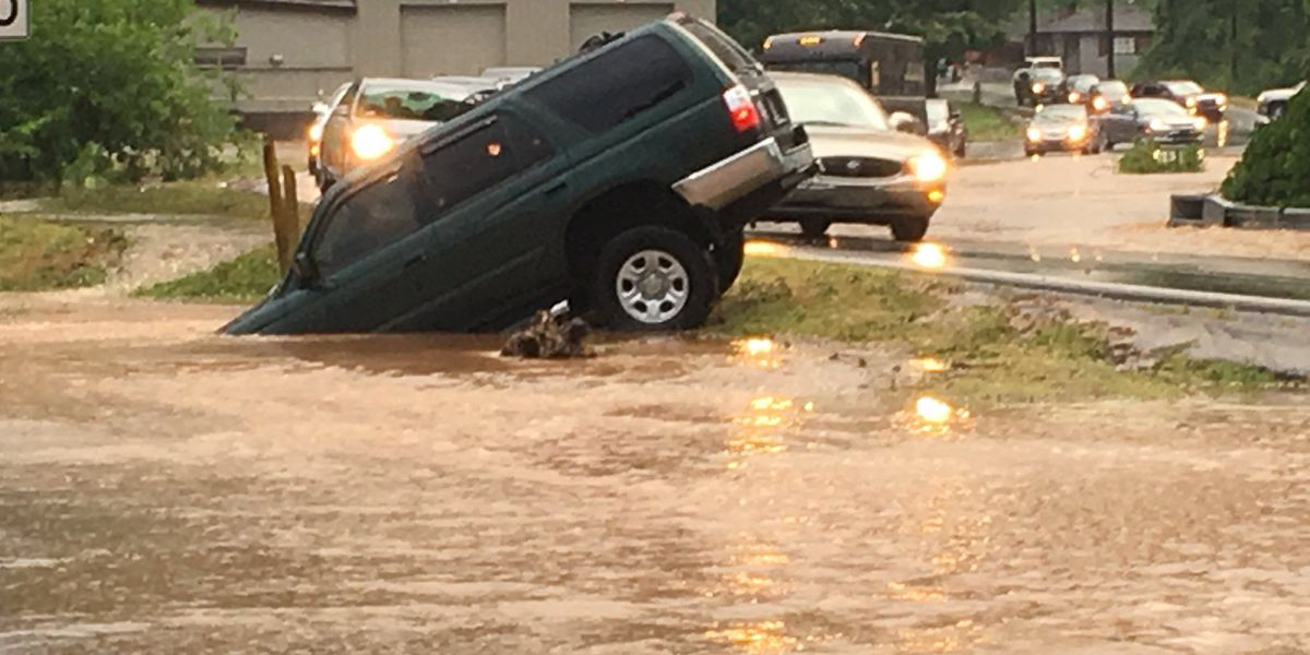 Scattered storms bring flooding to some parts of central AL