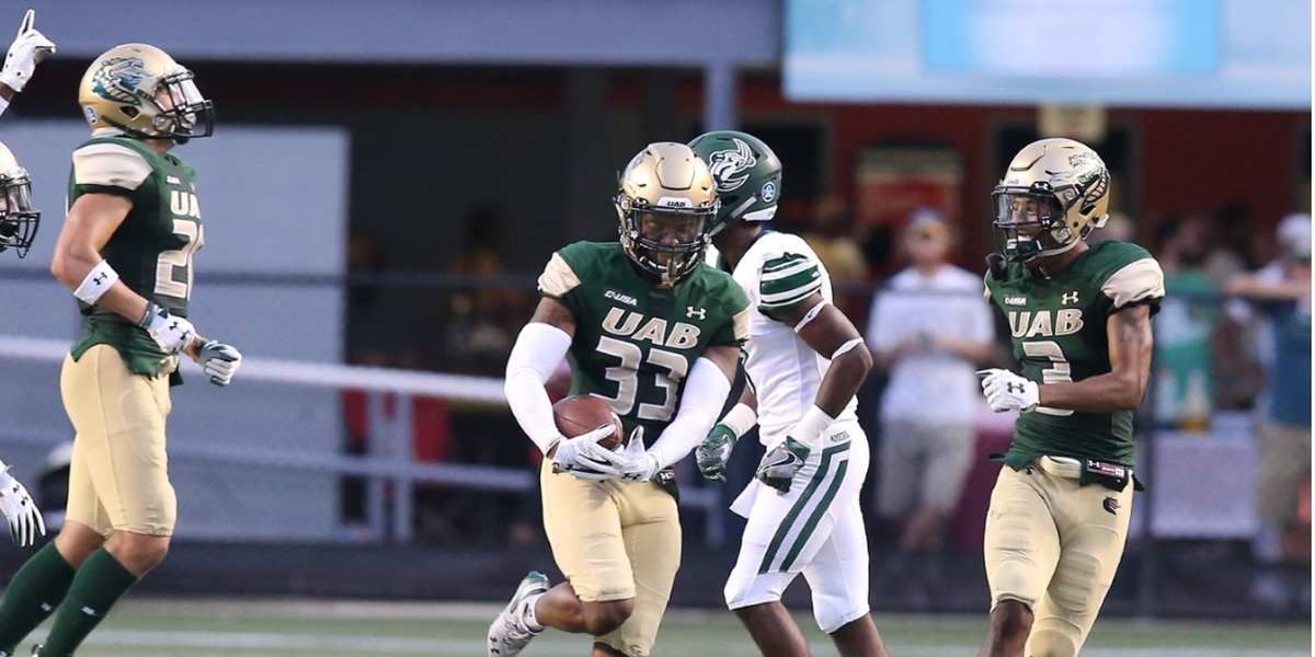 UAB Cornerback Brontae Harris out for season