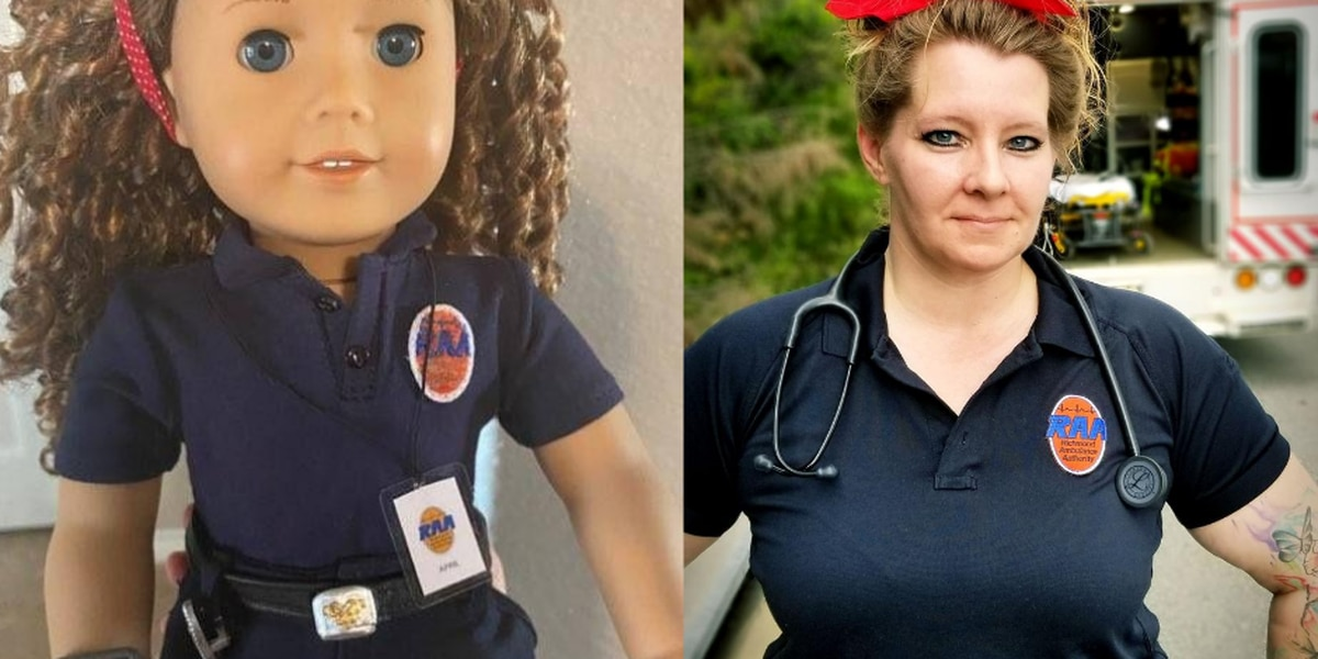 Richmond EMT is one of the newest American Girl Dolls
