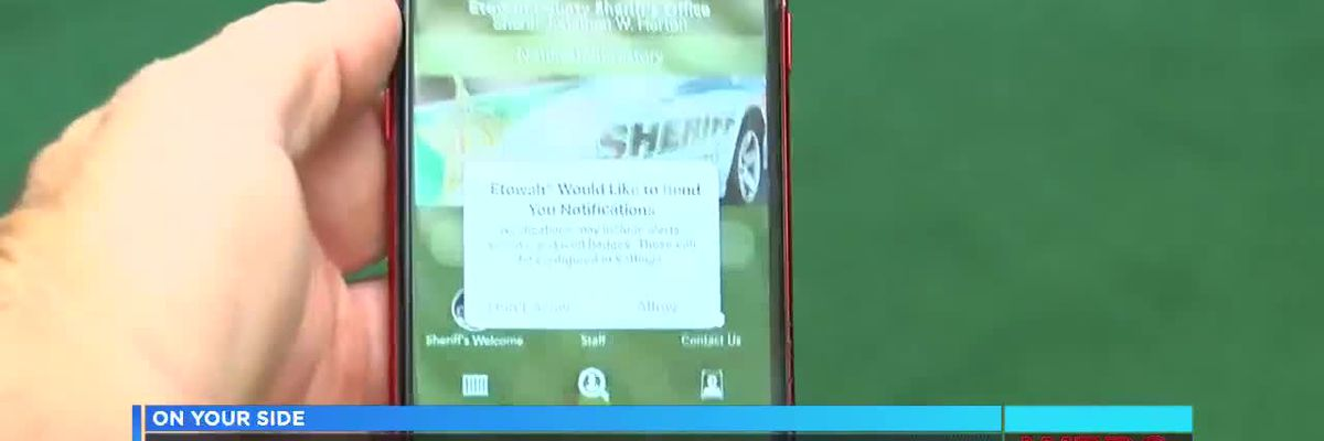 Etowah Co. Sheriff's Office releases app