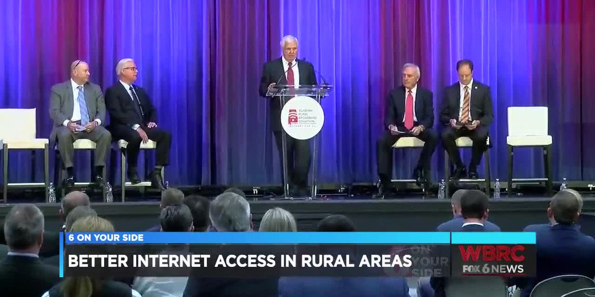 Better internet access in rural areas