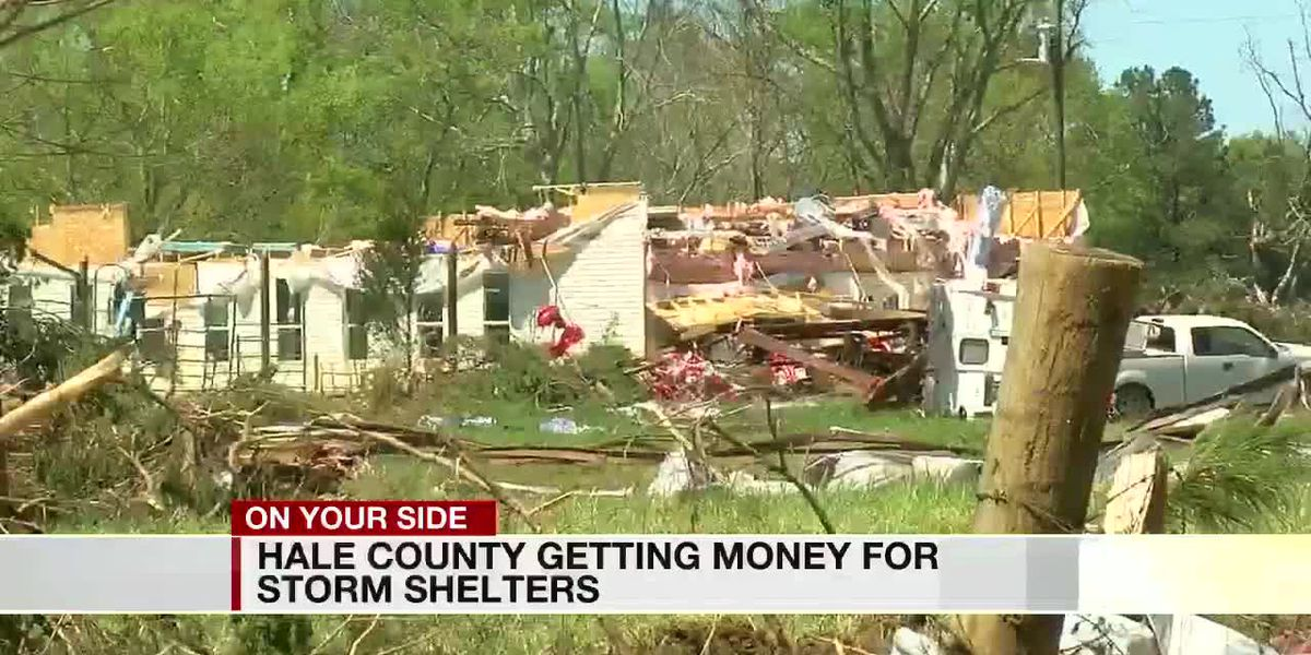 Hale County leaders want to use American Rescue Plan money for public tornado shelters