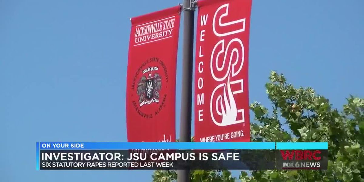 Investigator: JSU campus safe following 6 statutory rape reports