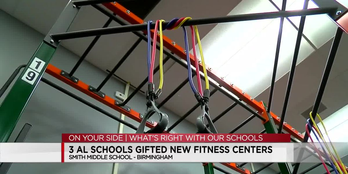 What's Right With Our Schools: 3 Ala. schools gifted new fitness centers