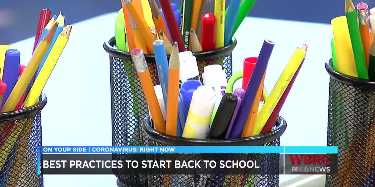 Best practices to start back to school