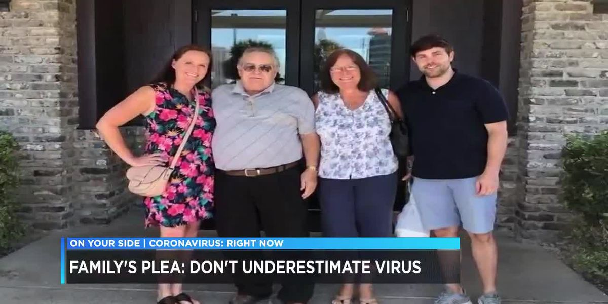 Family plea: Don't underestimate virus