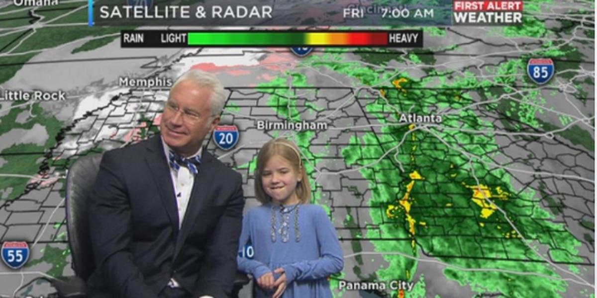 Mickey's Weather Kid: Krislynn