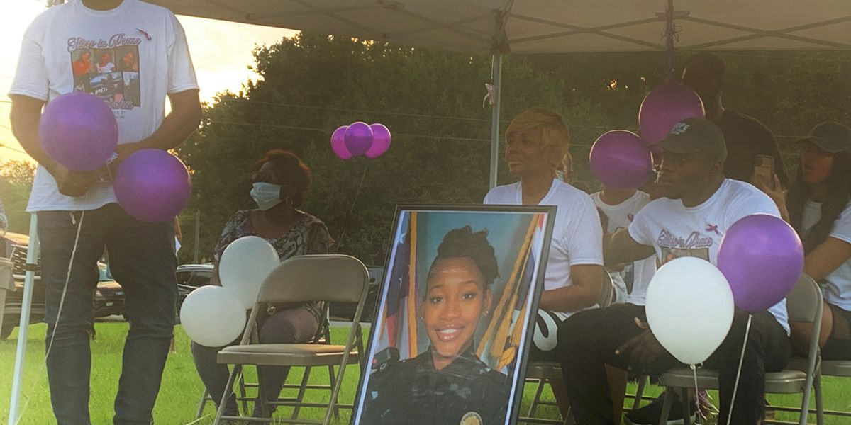 Vigil held to honor life of slain MPD Detective